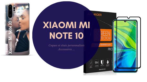coques personnalisées xiaomi mi note 10