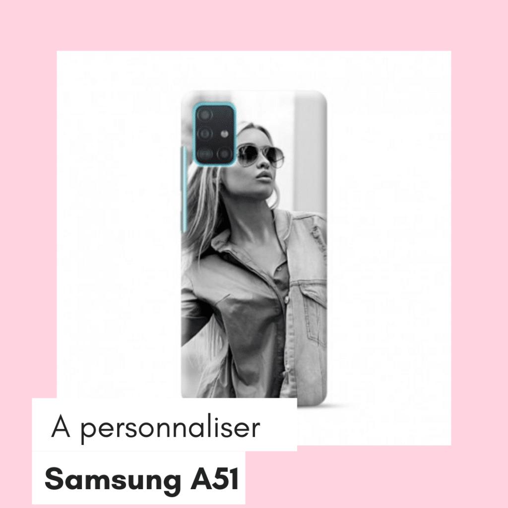 coque a personnaliser samsung galaxy a51