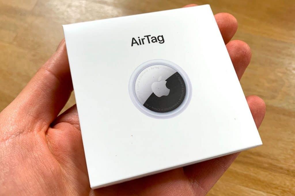 apple airtag boite